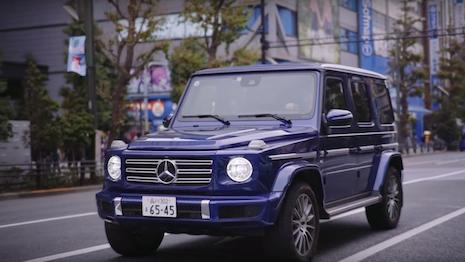 Mercedes Benz G Class Japan