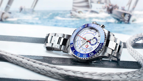 Wind behind its sails: Rolex zealously guards its trademark. Seen here: Rolex's Yacht-Master Regatta watch. Image credit: Rolex