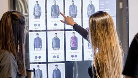 Adding a digital touch to stores. Image credit: Virtual Visions