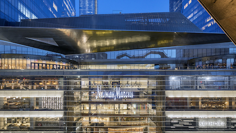 Hudson Yards Neiman Marcus exterior