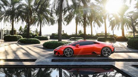 Unveiling of the new Lamborghini Huracán EVO on Twitter. Image credit: Lamborghini