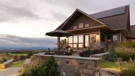 Christie's Solar Roof Home Vermont