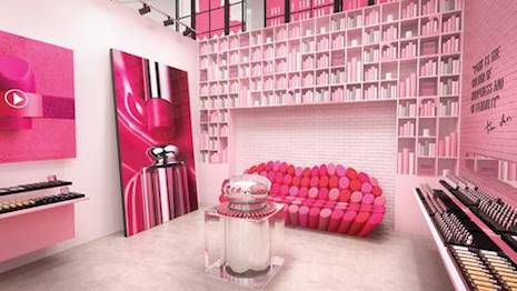 Dior Pink City library