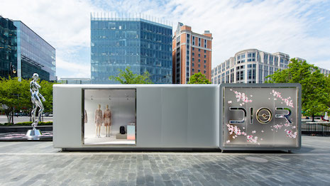 9964ae421b65 Dior brings retro-futuristic runway show to retail with pop-ups