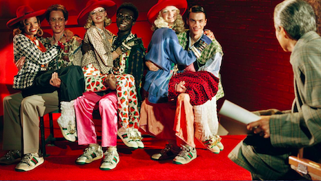 Gucci has stunned the luxury world by becoming the poster-child of adaptability with its resounding acceptance by affluent millennials. Image credit: Gucci