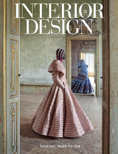 Interior Design magazine's April 2019 issue