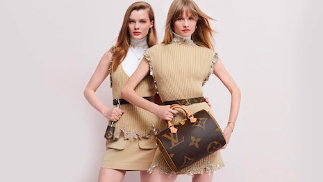 Louis Vuitton, one of the world's leading luxury brands, has assiduously protected its trademarks worldwide. Shown: Louis Vuitton's new Monogram Giant handbag collection, available exclusively online. Image credit: Louis Vuitton