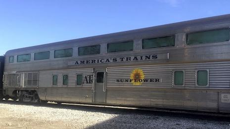 America's Trains Sunflower Rail Car