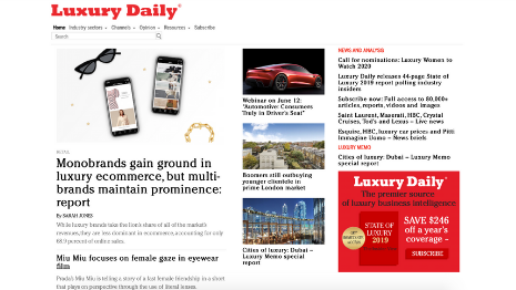 Luxury Daily Front Page 6-11-2019