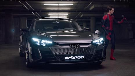 Spider-Man Audi e-tron