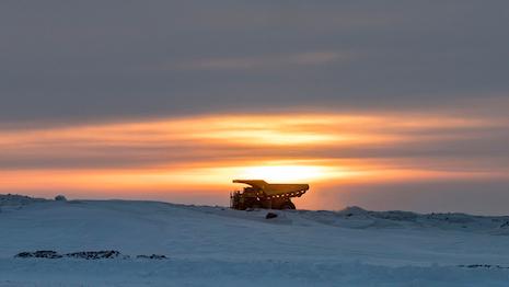 De Beers Mine Truck Gahcho Kue Canada