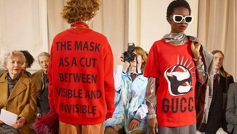 Gucci Manifesto fall winter 2019. Image credit: Gucci