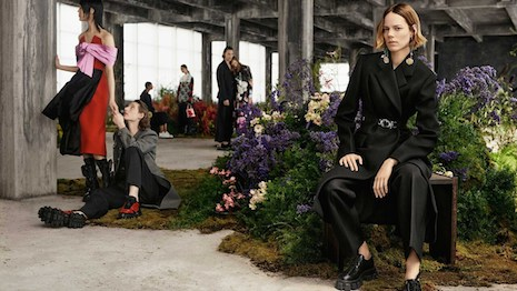 Ad campaign for Prada's fall/winter men and women's collections. Image credit: Prada