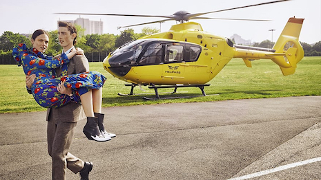 Printemps Summer 2019 helicopter