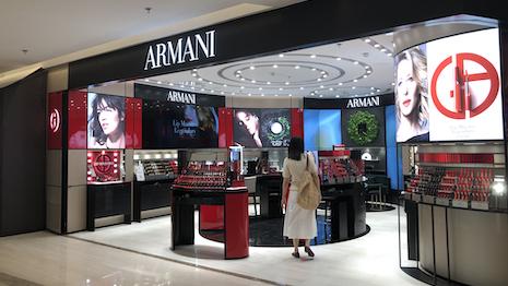 Armani Storefront