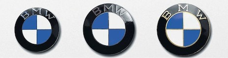 BMW's logo has withstood the test of time and is remarkably unchanged. Image credit: BMW