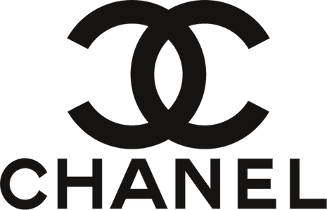 Chanel's intertwined C's and the clean, customized Chanel typeface that closely resembles Gotham bold are viewed as hallmarks of luxury elegance. Image credit: Chanel