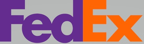The FedEx logo is absolutely, positively a right fit for the brand. Image credit: FedEx