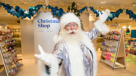 Department store chain Selfridges opens its Christmas shop – five months before Christmas Day. Image credit: Matt Writtle/Selfridges © Matt Writtle 2019