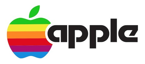 This version of Apple's logo had a very 1970s-feel to it, but its DNA is still visible in the logo currently used by the company