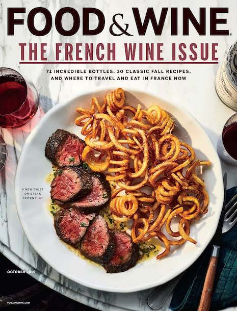 Food & Wine October 2019 cover