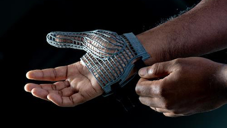 Jaguar Land Rover 3D Printed Glove