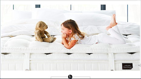 Luxury mattress sales online: Sweet dreams for Neiman Marcus? Image credit: Neiman Marcus