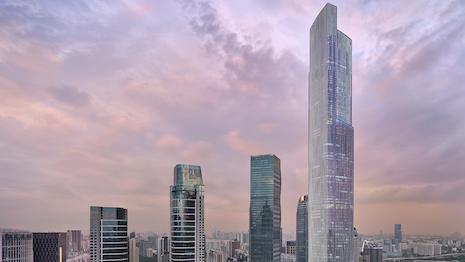 Rosewood Guangzhou skyline
