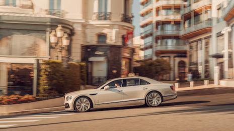 Bentley New York parade