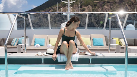 Crystal Cruises female traveler
