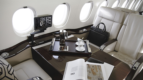 Magellan Jet interior