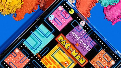 U.S. beauty brand Wet 'n Wild launched a Pac-Man- inspired eyeshadow palette. Image credit: Wet 'n Wild