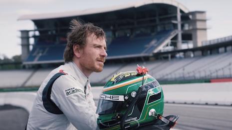 Michael Fassbender Porsche