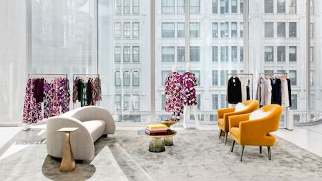 Nordstrom's New York flagship is designed so that each floor is a display window. Image courtesy of Nordstrom