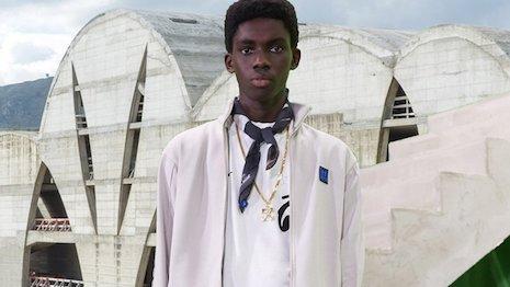 Off-White pre-fall menswear 2019 campaign. Image credit: Off-White