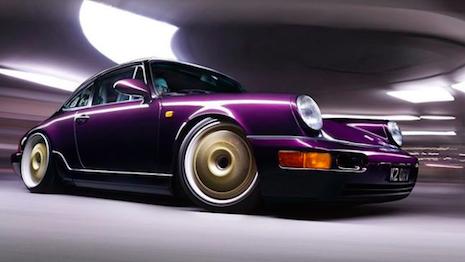 The Porsche 964: a classic whose DNA runs through contemporary vehicles from the marque. Image credit: Porsche