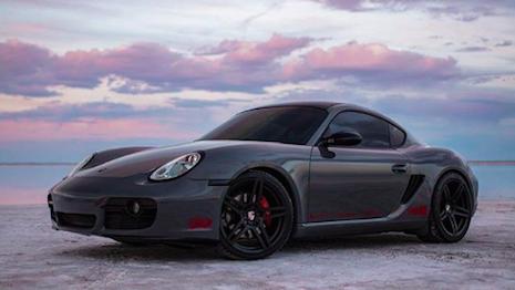 With digital, the sky's the limit: Porsche Cayman. Image credit: Porsche