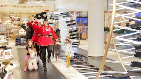 Selfridges debuts Europe's FAO Schwarz flagship destination at its London Oxford Street store. Photo and copyright: Matt Writtle. Image credit: Selfridges