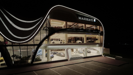 Maserati's Dubai showroom is the biggest in its global network, indicating its confidence in the Middle East market and its affluent customer base in that region. Image credit: Maserati