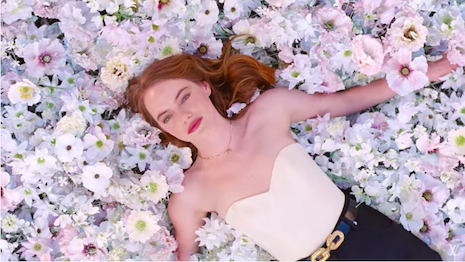 Actor Emma Stone goes emotional over Louis Vuitton's Coeur Battant perfume. Image credit: Louis Vuitton