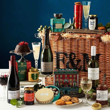 Fortnum's Classic Christmas Hamper, priced at $225. Image credit: Fortnum & Mason
