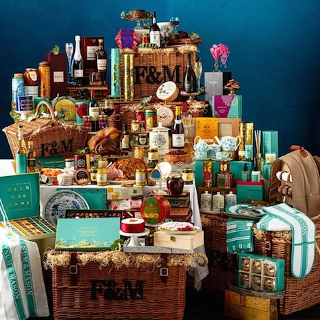 Fortnum & Mason's Imperial Hamper, priced at $7,775. Image credit: Fortnum & Mason