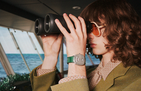 Eye eye, Captain: Gucci's 2019 holiday campaign. Image courtesy of Gucci