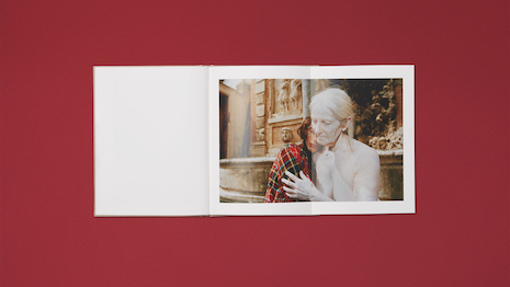 Imitation is the sincerest form of flattery: Gucci's Oviparity artbook. Image courtesy of Gucci