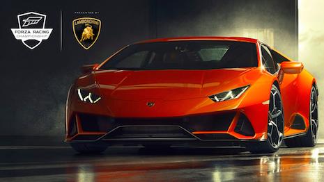 The Lamborghini Huracan EVO. Image credit: Lamborghini