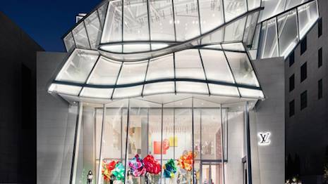 For the soul: The new Louis Vuitton store in Seoul. Image credit: Louis Vuitton