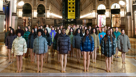 Smart move: Moncler House of Genius. Image courtesy of Moncler. Photo credit: Vanessa Beecroft