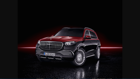 Mercedes-Maybach GLS 600 exterior. Image courtesy of Mercedes-Benz