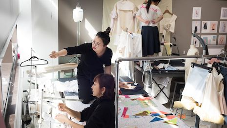 Seen here: Parsons Festival 2017: BFA Fashion Design. Image credit: Parsons School of Design