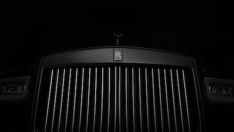 Grille of the new Rolls-Royce Cullinan Black Badge. Image credit: Rolls-Royce